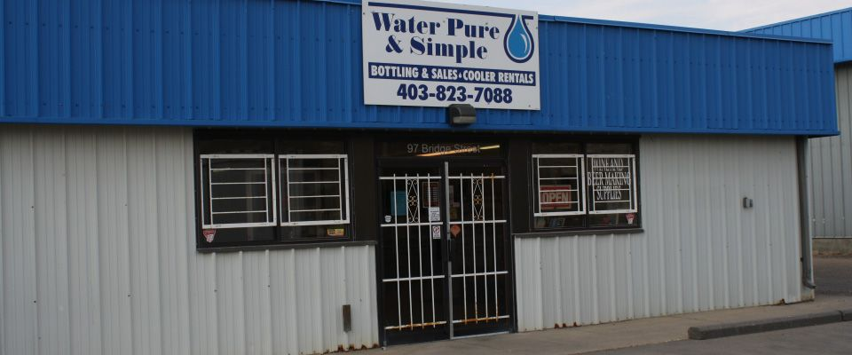 Water Pure & Simple building