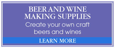 Beer and wine making supplies Learn more