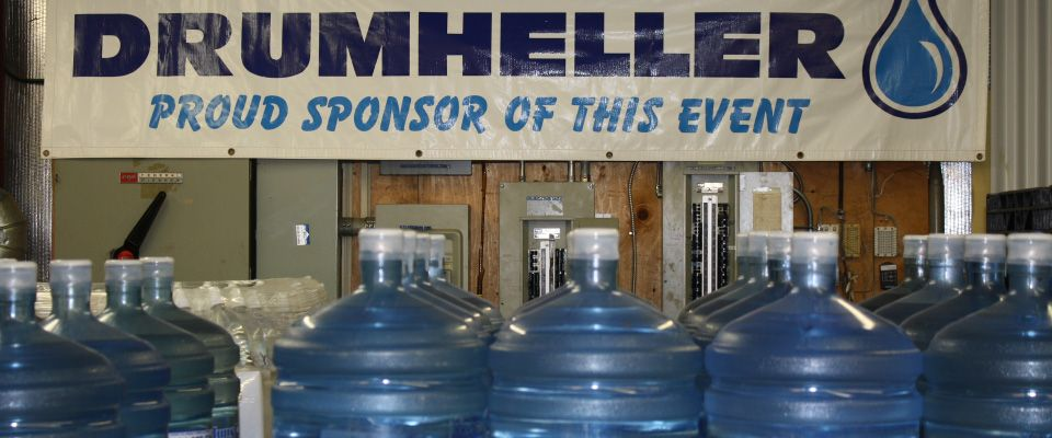 Drumheller | Water bottles